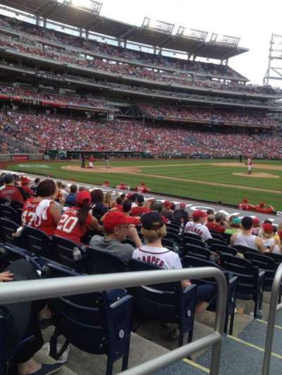 Nationals Park, section: 130, row: J, seat: 130