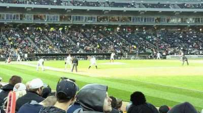 Guaranteed Rate Field, section: 116, row: 7, seat: 1