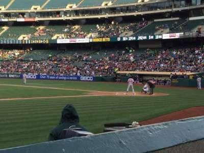 Oakland Alameda Coliseum, section: 122, row: 6, seat: 9