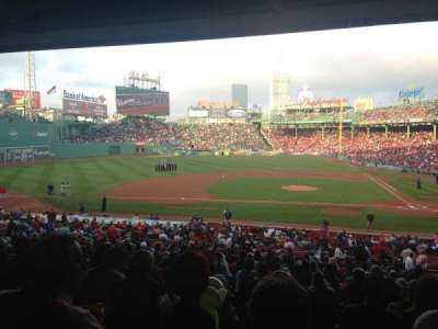 Fenway Park section Grandstand 25