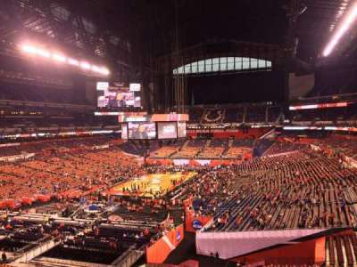 Lucas Oil Stadium, section: 423, row: 1, seat: 1