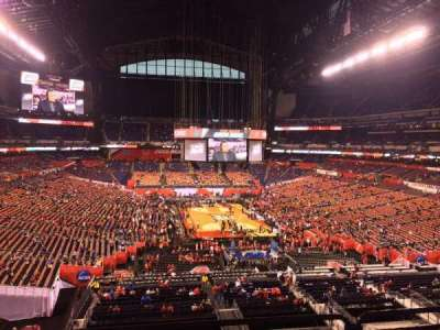 Lucas Oil Stadium, section: 428, row: 1, seat: 101
