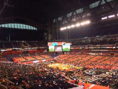 Lucas Oil Stadium, section: 433, row: 1, seat: 1