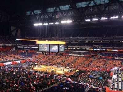Lucas Oil Stadium, section: 436, row: 1, seat: 1