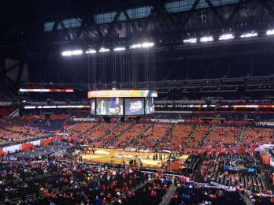 Lucas Oil Stadium, section: 437, row: 1, seat: 1