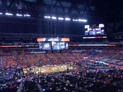 Lucas Oil Stadium, section: 442, row: 1, seat: 1