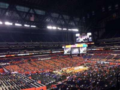 Lucas Oil Stadium, section: 446, row: 1, seat: 1