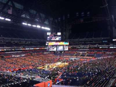 Lucas Oil Stadium, section: 449, row: 1, seat: 1