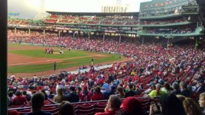 Fenway Park Section GrandStand 29 Row 5 Seat 25