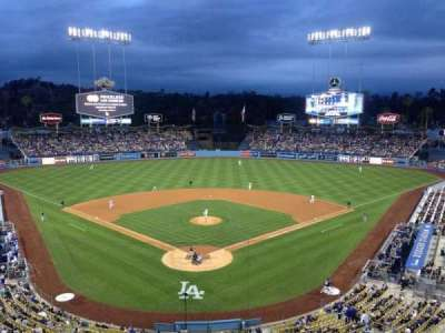 Dodger Stadium, section: 1RS, row: 1, seat: 6