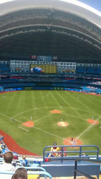 Rogers Centre, section: 525, row: 13, seat: 101