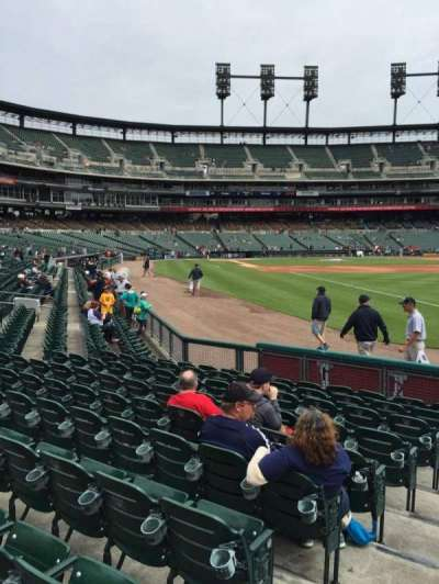Comerica Park, section: 113, row: 10, seat: 24