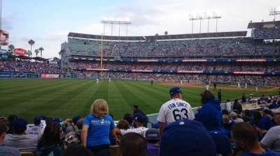 Dodger Stadium, section: 149lg, row: J, seat: 4