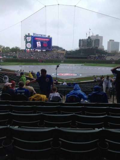Wrigley Field, section: 121, row: 10, seat: 6