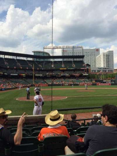 Oriole Park at Camden Yards, section: 30, row: 7, seat: 7
