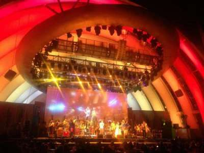 Hollywood Bowl, section: Garden Box, row: 254, seat: 1