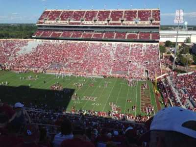 Gaylord Memorial Stadium, section: 102, row: 31, seat: 19