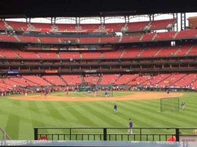 Busch Stadium, section: HLA, row: B, seat: 37