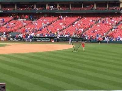 Busch Stadium, section: HLA, row: B, seat: 38