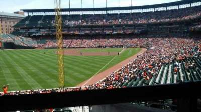 Oriole Park at Camden Yards section 77