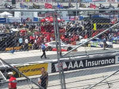 Dover International Speedway, section: 100, row: 3, seat: 20