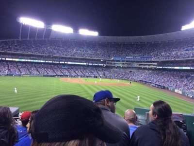 Kauffman Stadium, section: 203, row: E, seat: 16