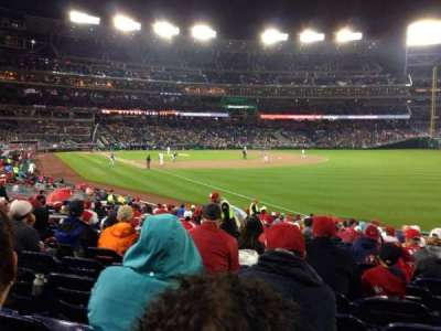 Nationals Park, section: 136, row: Z, seat: 14