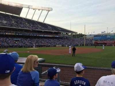 Kauffman Stadium, section: 139, row: C, seat: 11