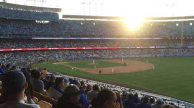 Dodger Stadium section 158LG