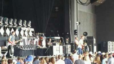 Gexa Energy Pavilion, section: 102, row: Y, seat: 41