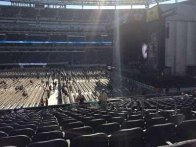 MetLife Stadium, section: 112, row: 21, seat: 6