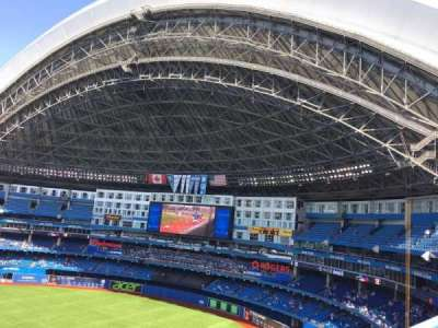 Rogers Centre Section R Home Of Toronto Blue Jays Toronto - Blue jays seating chart