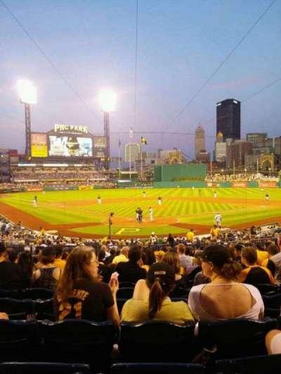 PNC Park, section: 115, row: R, seat: 18