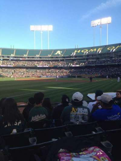 Oakland Alameda Coliseum, section: 129, row: 6, seat: 6