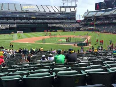 Oakland Alameda Coliseum section 119