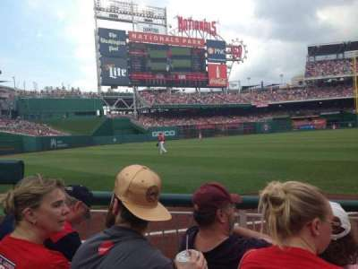 Nationals Park, section: 110, row: D, seat: 13