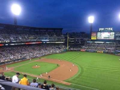 PNC Park, section: 307, row: A, seat: 5