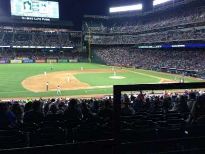 Globe Life Park in Arlington, section: 118, row: 34, seat: 17