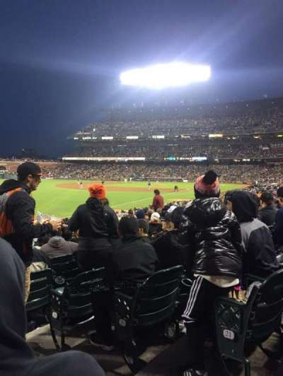 AT&T Park, section: 131, row: 22