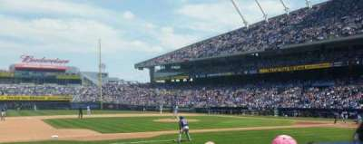 Kauffman Stadium, section: 119, row: e, seat: 5