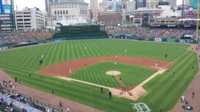 Comerica Park, section: 329, row: A, seat: 10