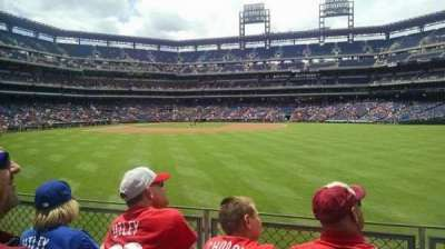 Citizens Bank Park, section: 102, row: 3, seat: 12