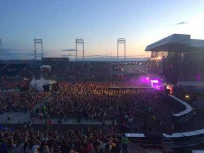 Hershey Park Stadium, section: 25, row: X, seat: 1