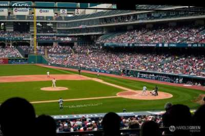 Progressive Field, section: 262, row: E, seat: 6