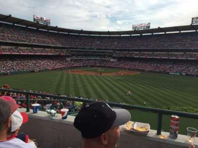 Angel Stadium, section: P248, row: b, seat: 22