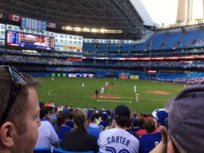 Rogers Centre, section: 126R, row: 22, seat: 111