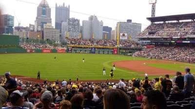 PNC Park, section: 128, row: Z, seat: 11
