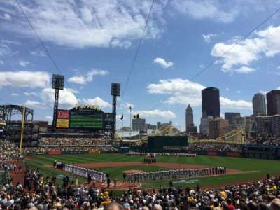 PNC Park, section: 115, row: T, seat: 13