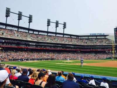 Comerica Park, section: 118, row: 8, seat: 18