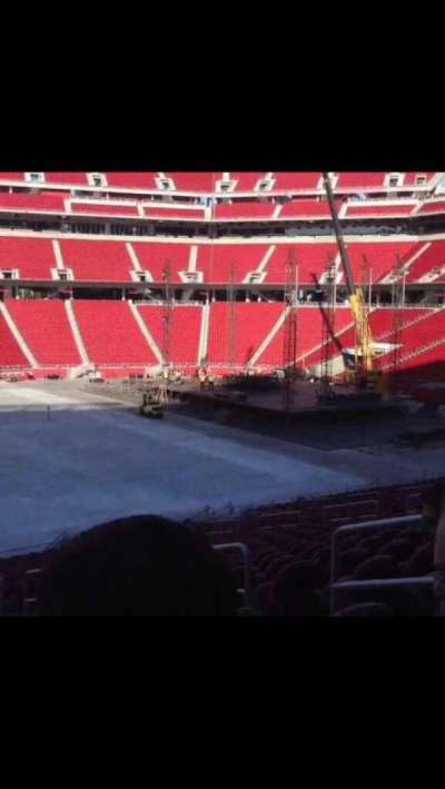 Levi's Stadium, section: Field 11, row: 6, seat: 8